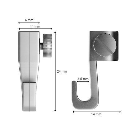 Bilderschienen Set 2 m in Weiß - Klassik - Bilderschiene inklusive Zubehör – Bild 5