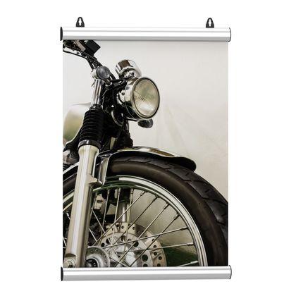 Posterschiene Aluminium 85cm - Klemmschiene zum Poster aufhängen ohne Beschädigung – Bild 1