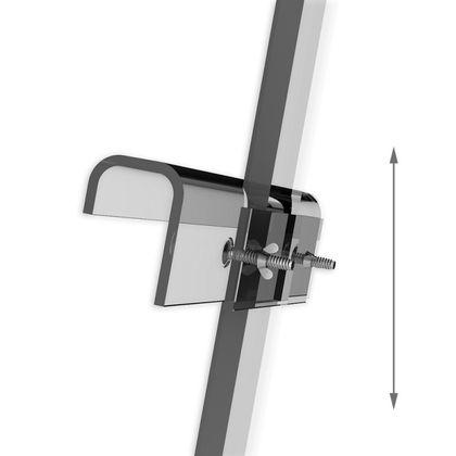 glasklare Acryl Staffelei aus Acrylglas - 175 cm  – Bild 2